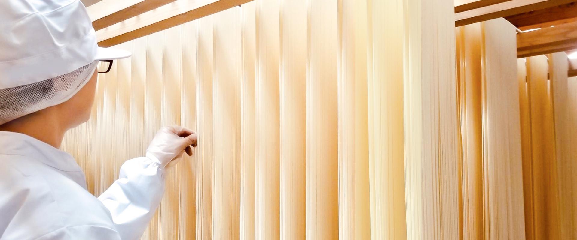 創業60年の伝統と品質本位の麺づくり